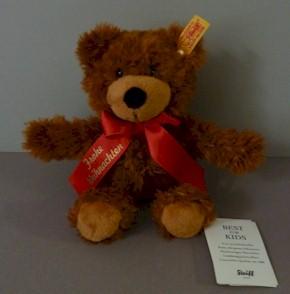 Teddy Weihnachten.Ean 988035 Steiff Plush Charly Merry Christmas Frohe Weihnachten